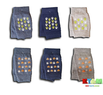 New Baby Boy Infant Toddler Crawling Safety Cotton Anti Slip Knee Pads Warmers