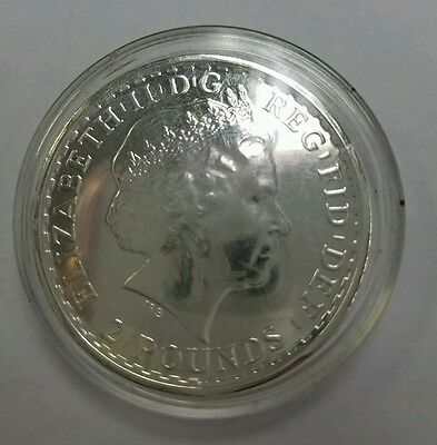 *2014 Great Britain 1 oz Silver Britannia - Year of the Horse Privy*