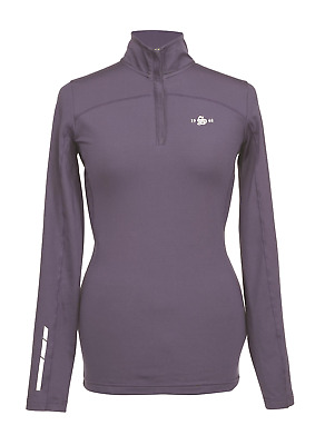 Shires Beijing Ladies Base Layer Top - Navy Blue