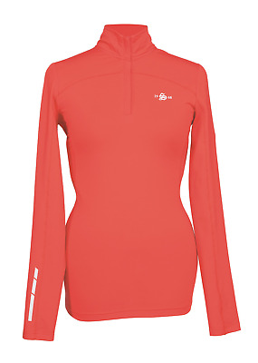 Shires Beijing Ladies Base Layer Top - Red