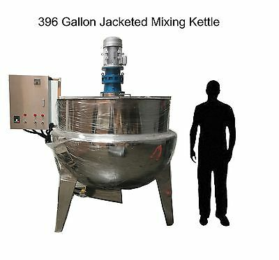 "Jacketed Mixing Kettle 396 Gallons ""New"" 3 layers of construction"