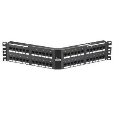 Panduit DPA48688TGY 48-Port Angled CAT6 Patch Panel,new =