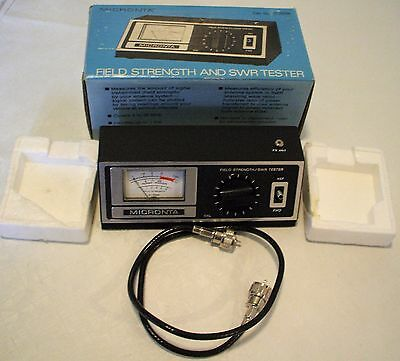 Micronta - Radio Shack - Field Strength / Swr - Tester - Cat. No. 21-525B