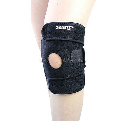 Adjustable Neoprene Bandage Knee Support Brace Wrap Patella Protector Running Pa