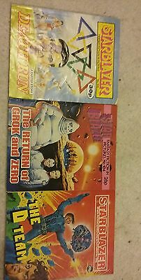 3 starblazer comic early numbers lot 7