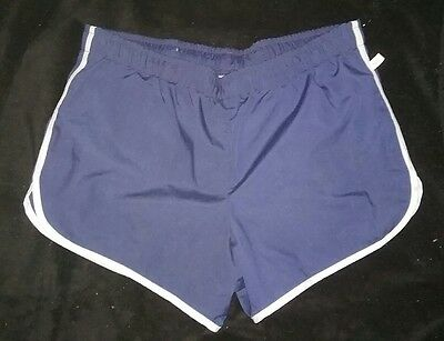 Vintage JANTZEN  Blue Swim Trunks Bathing Suits Shorts USA Mens 34