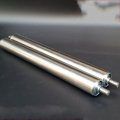 25mm DIA Stainless Steel Heavy Duty Assembly Line Conveyor Roller 800-1000mm