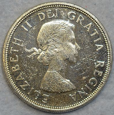 1864 - 1964 Silver $1 Canadian Dollar Charlotte Town Quebec Canada # 78067