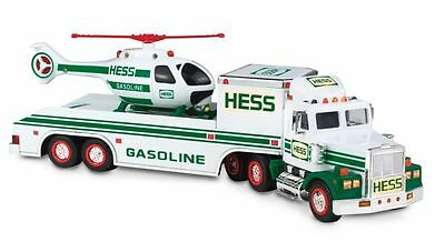 1995 NEW HESS Gasoline Toy Truck and Helicopter  NEW in Box MINT