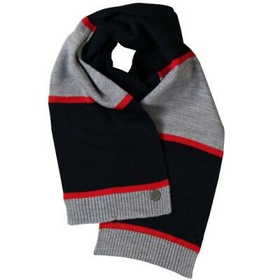 Bóboli Boys Scarf blue, grey, red striped Size M, L, XL