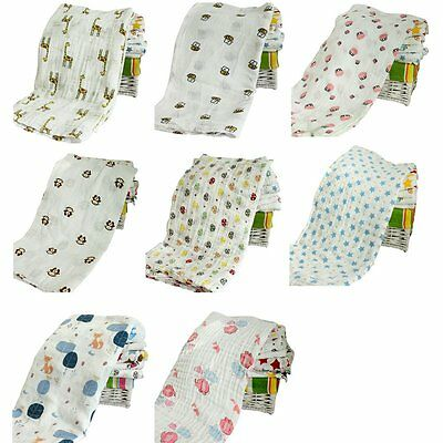 Newborn Baby Blanket Swaddle Blanket Cotton Baby Sleeping Swaddle Wrap Bedding