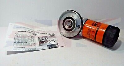 New Spin on Oil Filter Adaptor for Triumph TR6 and  TR250 w Fram Filter