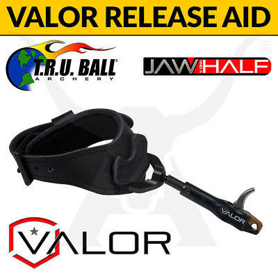 TRU Ball Valor Release Aid - Jaw and a Half - Buckle Strap Finger Bow Trigger