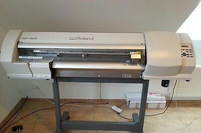ROLAND PRINT AND CUT - ROLAND VersaCAMM SP 300 Large Format Printer Used