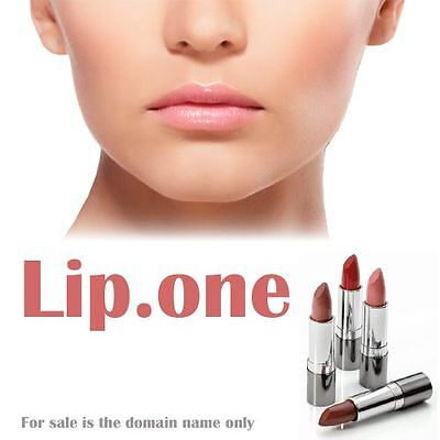 Lip.one Premium Web Site Domain Name For Sale  Easy to Brand Your Identity