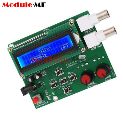DDS LCD Function Generator Signal Module Sine Square Triangle Wave DC 7V-9V UK