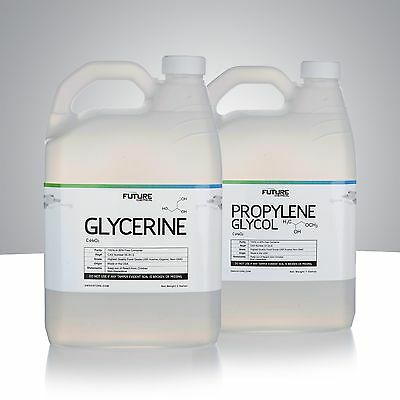 Vegetable Glycerin & Propylene Glycol High Purity Food Grade 2 Gallon Kit