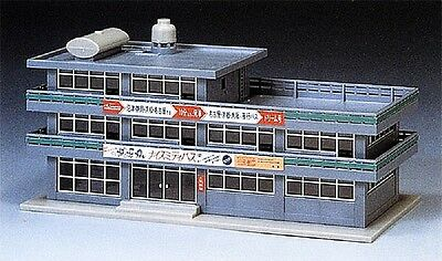 NIB 1 X  N Scale Tomix 4025 Assembled Railroad Office Structure Kit