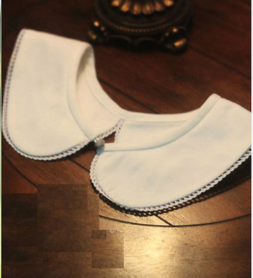 New Cute Lady Lace Peter Pan Detachable Neck Collar Necklace White