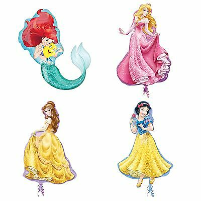 Official Disney Princess Flat Giant Balloon Gift Girls Birthday Party Decoration