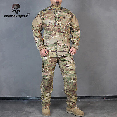 EMERSON R6 Style Uniform Perfect Set Version Tactical Airsoft BDU MultiCam 6889