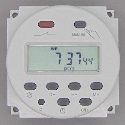 DC 12V 16A Digital Electronic LCD Time Relay Switch Programmable Timer US SHIP