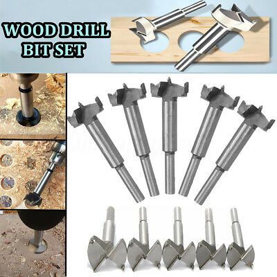 14-65mm HSS Forstner Woodworking Boring Wood Hole Saw Cutter Drill Bit Tool New