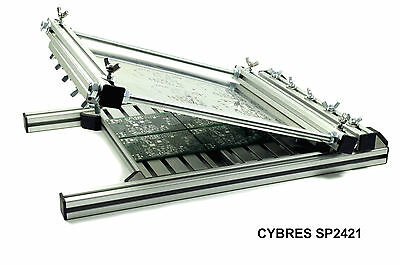 CYBRES SP2421 Manual Stencil Printer/SMT Schablonendrucker