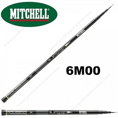 Canne Au Coup Mitchell Tanager Pole 6M00