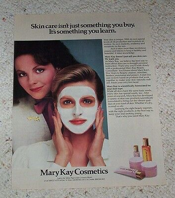 1983 ad page - Mary Kay Cosmetics skin Lady beauty PRINT vintage ADVERTISING