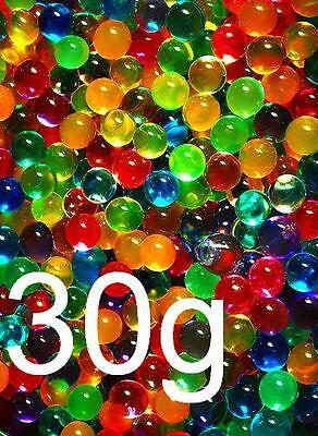 HIGH CAPACITY WATER BEADS 30g Makes 4.5 Litre Mixed Crystal Balls Vase Fillers