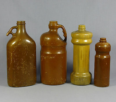 VINTAGE ADVERTISING WOODEN BOTTLE PACKAGING MOULDS LATE 1960's ART DECO DISPLAY