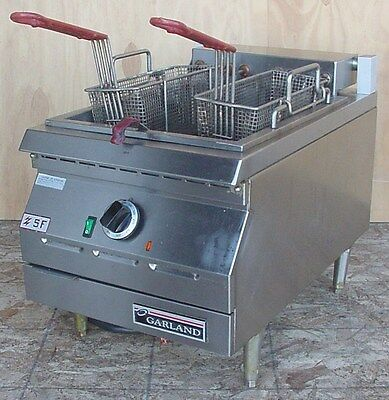 Garland Ed-15Sf Electric Countertop Super Deep Commercial Fryer 3Ph/208V