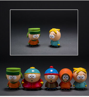5pcs South Park Mini Comedy Central 1998 action figure toy Kenny CAKE TOPPER