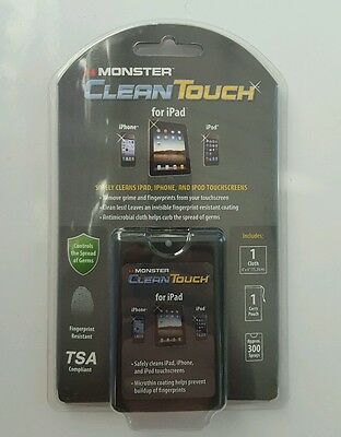 MONSTER Clean Touch ( Spray & Cloth ) Clean Screens