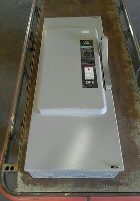 Siemens F354 200 Amp 600 Volt Fused Type 1 Disconnect Switch