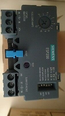 * New* Siemens Esp200 Overload Relay Cat No 48Atc3S00 3-12A ,600Vac, 3 Phase