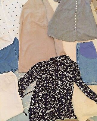 Womens' Very Nice, Lot Of Spring Maternity Clothes, Includes 1 Dress, Size S / M