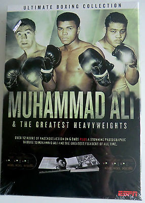 Muhammad Ali & The Greatest Heavyweights 6-Dvd Box/book Set