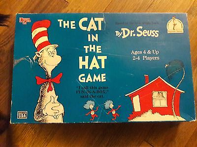 Vintage 1996 The Cat in the Hat Board Game