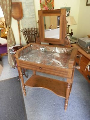 An attractive French washstand