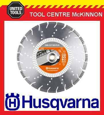 "HUSQVARNA 14"" / 350mm VARI-CUT S65 PLUS ABRASIVE DIAMOND BLADE FOR REO & ASPHALT"