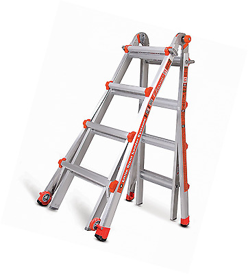 Little Giant 4 Rung Classic Version | Aluminium Multi-Purpose Ladders, Model 17