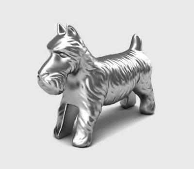 Monopoly Token - Scottie Dog