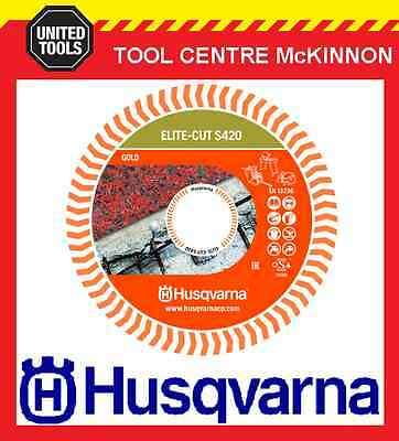 "HUSQVARNA 14"" / 355mm ELITE-CUT 420 PREMIUM DIAMOND BLADE – REINFORCED CONCRETE"