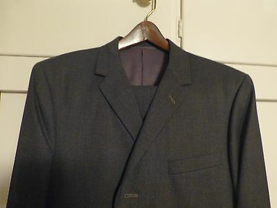 Vintage Mens Two Piece Wool Suit