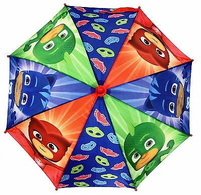 NEW! Disney PJ Masks Boys Umbrella with 3D Handle