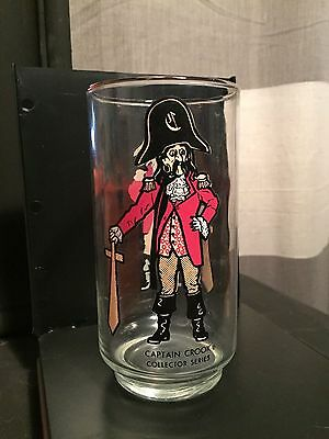 Vintage 1970's McDonald's Captain Crook Glass
