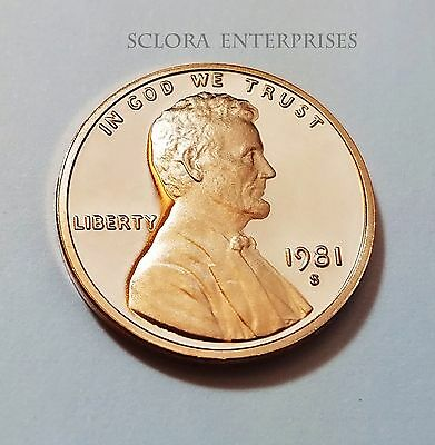 1981 S Lincoln Memorial *proof* Cent / Penny *type I (1)*  **free Shipping**
