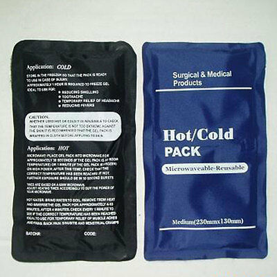 Health Care Reusable Hot / Cold Heat Gel Ice Pack Muscle / Back Pain Relief